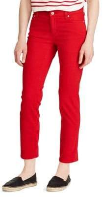 Lauren Ralph Lauren Petite Straight Mid-Rise Jeans