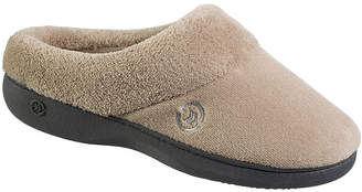 Isotoner Mixed Microterry Hoodback Clog Slippers