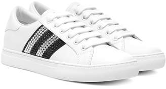Marc Jacobs (マーク ジェイコブス) - Marc Jacobs Embellished leather sneakers