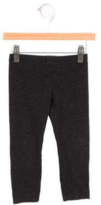 Armani Junior Girls' Stretch Knit Mid-Rise Leggings
