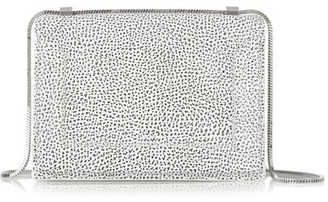 3.1 Phillip Lim - Soleil Mini Textured-leather Shoulder Bag - White $750 thestylecure.com