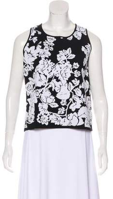 Milly Floral Sleeveless Top