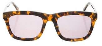 Karen Walker Tortoiseshell Tinted Sunglasses