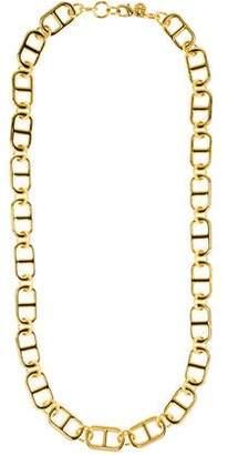 Tory Burch Plato Interlocking Chain Necklace