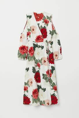 H&M Wrap Dress - White