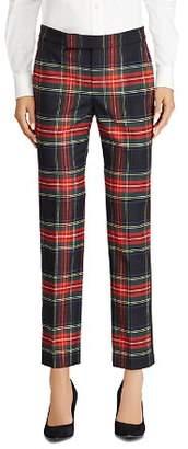 Ralph Lauren Plaid Straight Pants - 100% Exclusive