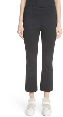 Moncler Velvet Trim Crop Pants