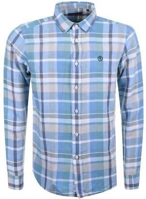 Henri Lloyd Lightford Check Shirt Blue