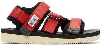 Suicoke Red Kisee-V Sandals