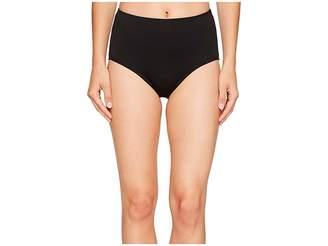 TYR Solid High Waist Bikini Bottom
