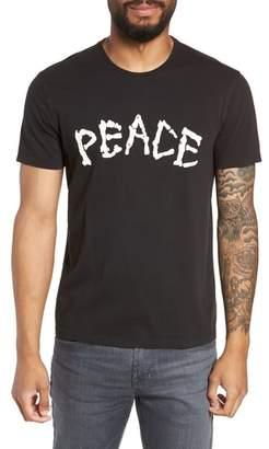 John Varvatos Skeleton Peace Graphic T-Shirt