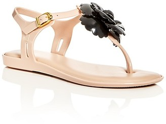 Mini Melissa Girls' Mel Solar Thong Slingback Sandals - Toddler, Little Kid $65 thestylecure.com