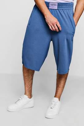 boohoo Established MAN Badge Basketball Shorts