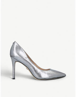 Sam Edelman Hazel 100 metallic leather courts