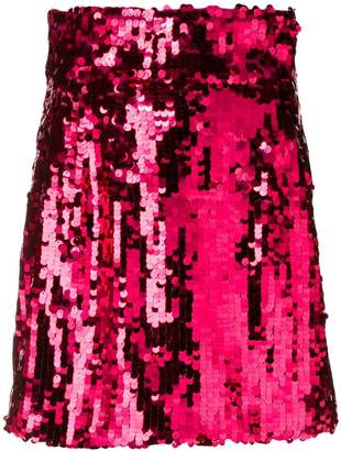 Dolce & Gabbana sequinned mini skirt
