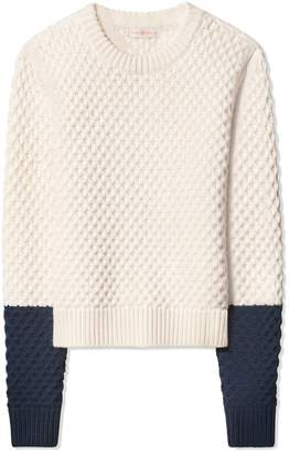 Tory Burch HONEYCOMB SWEATER