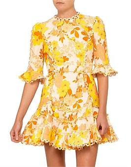 Zimmermann Primrose Flutter Dress