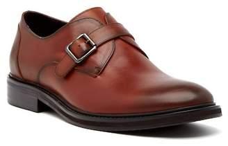 Hart Schaffner Marx Jersey Leather Monk Loafer
