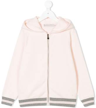 Christian Dior hoodie with striped trim