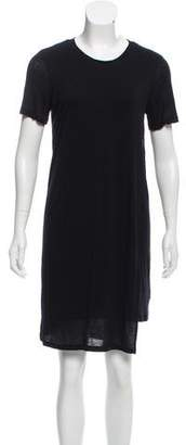 Acne Studios Short Sleeve T-Shirt Dress