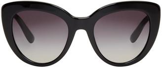 Dolce & Gabbana Black Cat-Eye Sunglasses $295 thestylecure.com