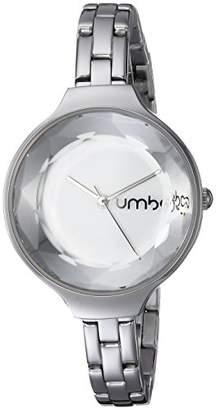 RumbaTime Women's 'Orchard Gem Stainless' Quartz Metal Steel Casual Watch
