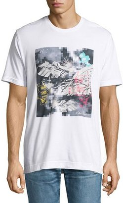 Robert Graham Space Robots Graphic T-Shirt, White $98 thestylecure.com