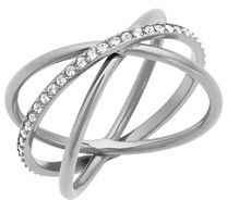 Michael Kors Orbital Pavé Crystal Ring $75 thestylecure.com