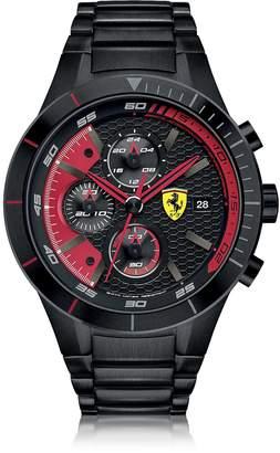 Ferrari RedRev Evo Black Stainless Steel Men's Chrono Watch