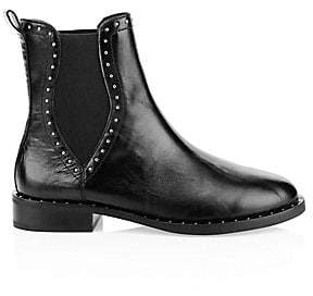 Rebecca Minkoff Women's Sabeen Stud Leather Chelsea Boots
