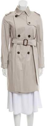Max Mara Weekend Double-Breasted Knee-Length Coat