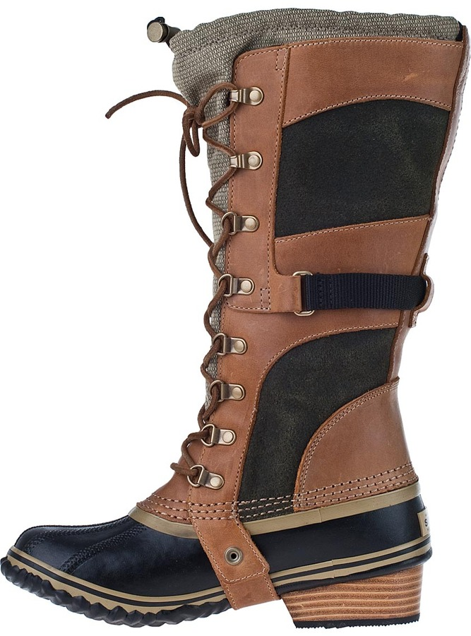 Sorel Conquest Carly Tall Boot Trail Multi