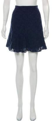 See by Chloe Patterned Mini Skirt