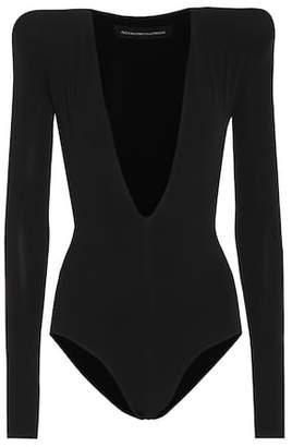 Alexandre Vauthier Jersey bodysuit