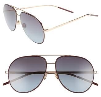 Christian Dior Astrals 59mm Aviator Sunglasses