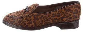 Stuart Weitzman Animal Print Loafers