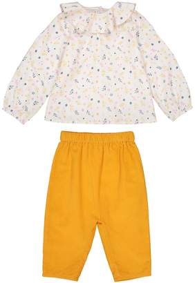 La Redoute Collections 2-Piece Outfit, Blouse + Trousers, Birth-3 Years
