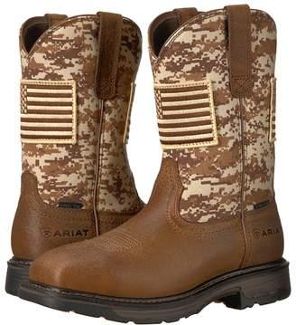 Ariat Workhog Patriot Steel Toe Cowboy Boots
