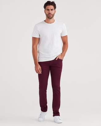 7 For All Mankind Luxe Sport Slimmy with Clean Pocket in Dark Merlot