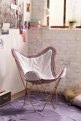 Urban Outfitters Amped Fleece Butterfly Chair Cover