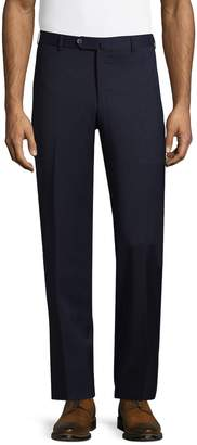 Isaia Men's Wool Dress Trousers