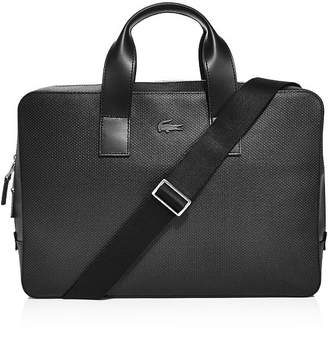 Lacoste Chantaco Leather Computer Bag
