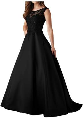MILANO BRIDE Gorgeous Evening Dress Pageant Gown Embroidery Sleeveless Ball Gown