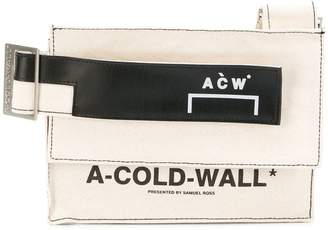 A-Cold-Wall* Canvas utility bag