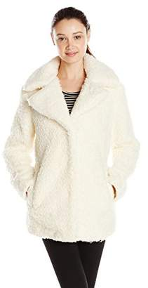 Celebrity Pink Juniors' Faux Fur Coat