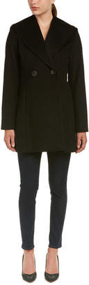 T Tahari Collette Wool-Blend Coat
