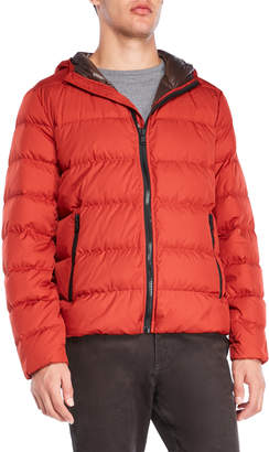 Michael Kors Packable Hooded Down Jacket