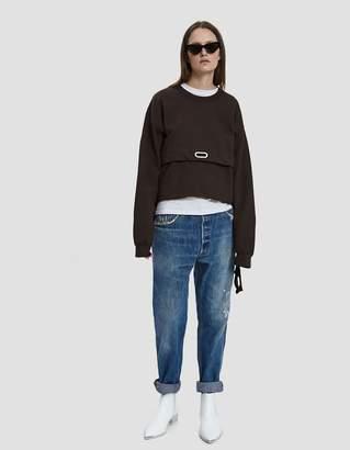 Collina Strada Anorak Grommeted Sweatshirt