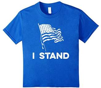 Stand For The National Anthem and Flag T-Shirt