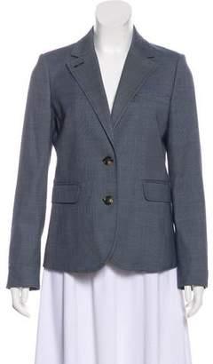 Tory Burch Wool-Blend Notch-Lapel Blazer